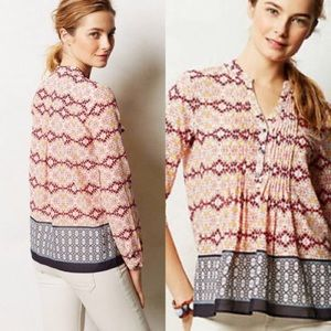 Anthropologie HD in Paris quarter length sleeve